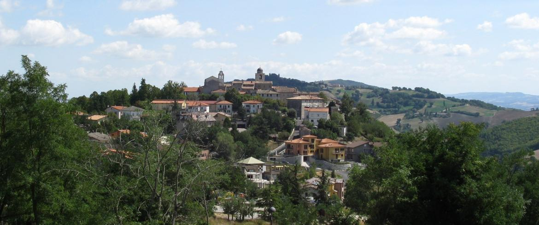 Vista di Monte Grimano Terme