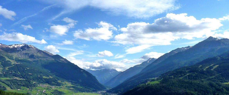 Panorama Bormio Valtellina