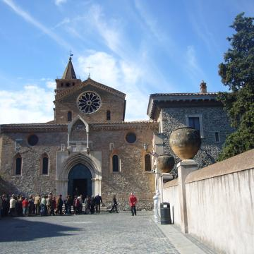 church of san Francesco in Tivoli