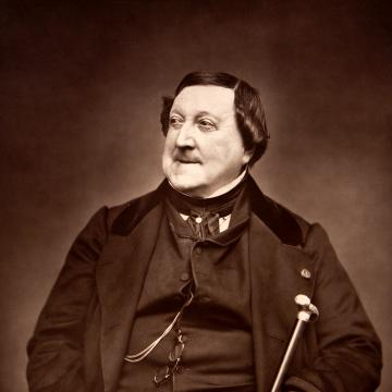 portrait of Rossini