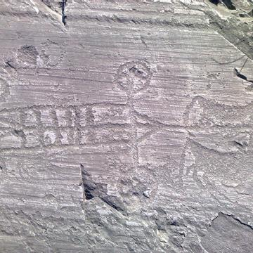 rock engravings in Camonica Valley