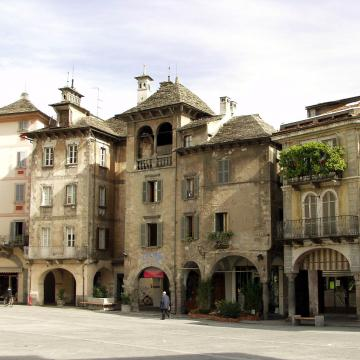 historical centre of Domodossola