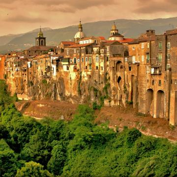 Panorama Sant'Agata dei Goti
