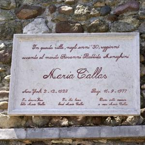 Dedica a Maria Callas