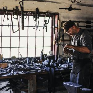 Blacksmith in Bormio