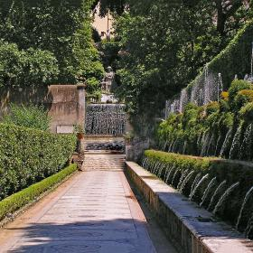 fountains of Villa d'Este