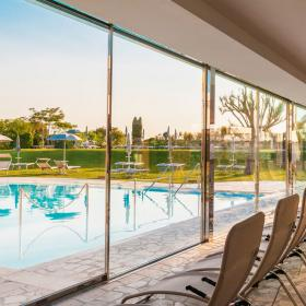 park and pool of Terme San Giovanni