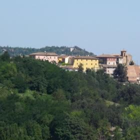 Panorama di Petriano