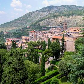 Vista di Tivoli Terme