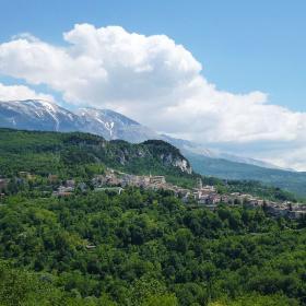 Paesaggio Caramanico e Popoli
