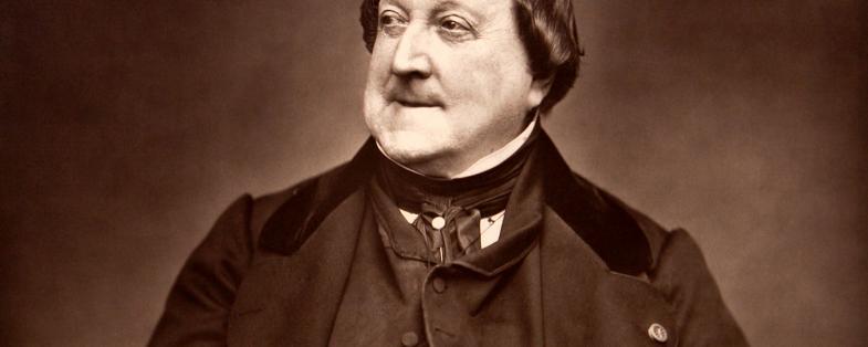 ritratto del compositore Rossini