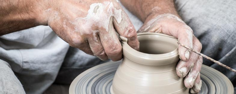 the art of pottery in Telese