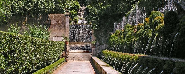 fountains of Villa d'Este