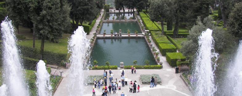 park of Villa d'Este