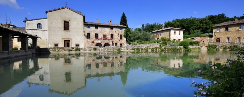 vista di Bagno Vignoni