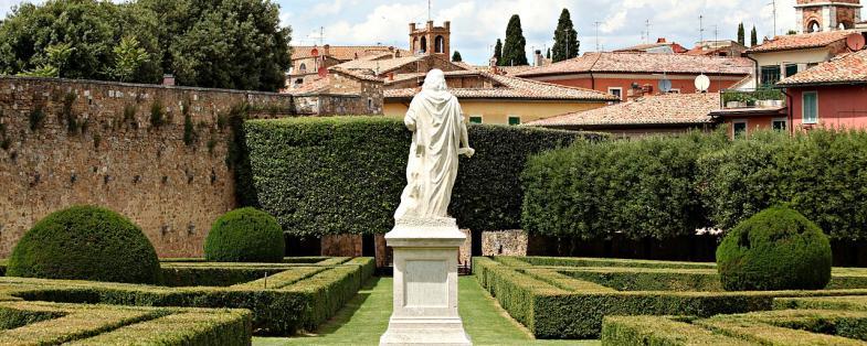 vista del giardino Horti Leonini