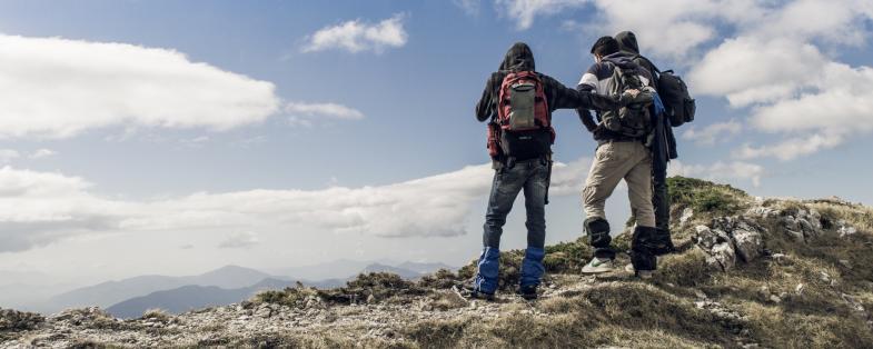 trekking e passeggiate a Monte Pugliano