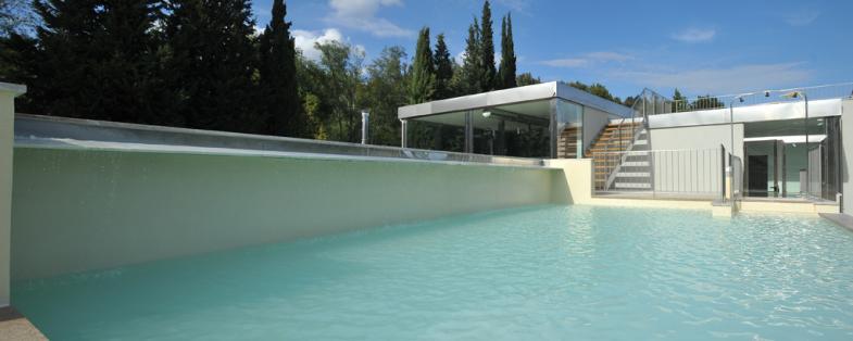 piscina esterna terme di Petriolo