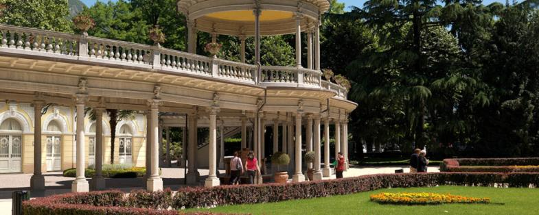 park at Boario spa
