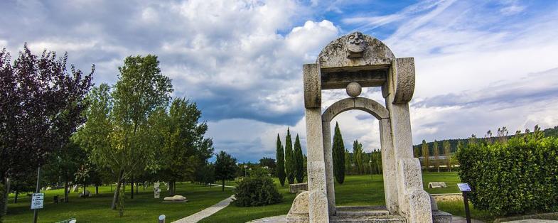 parco dell'acqua a Rapolano Terme